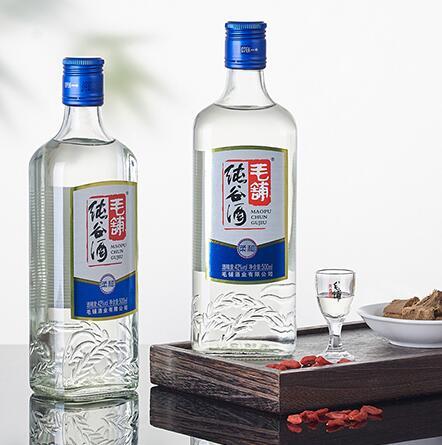 42度 毛铺纯谷酒 500mL*12瓶 箱装 配制酒